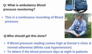 Ambulatory Blood Pressure Monitoring