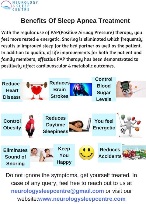 Benefits Of Sleep Apnea Treatment