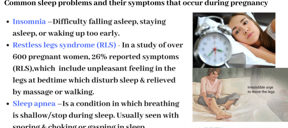 Sleep Issues in Expecting Mothers or During Pregnancy (1)