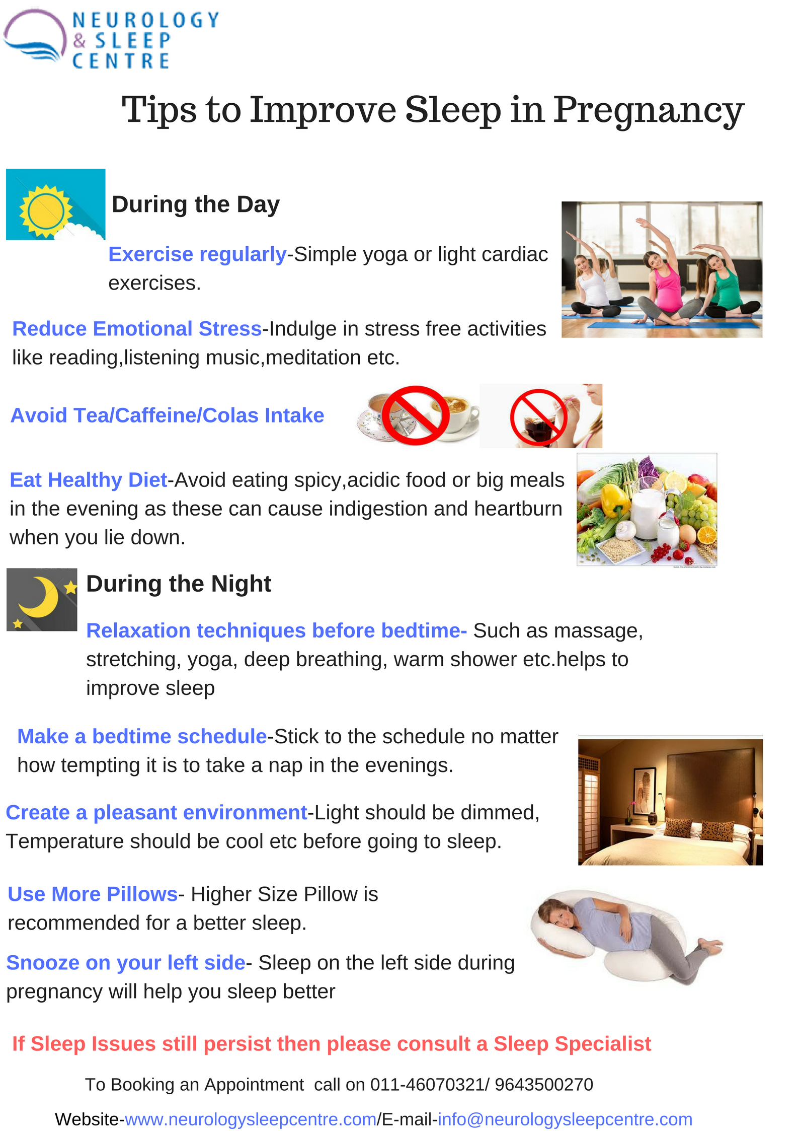 Useful Tips for Expected Mothers For Better Sleep